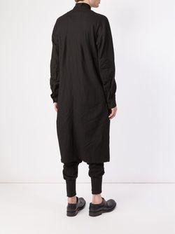 Long Shirt Jacket ZIGGY CHEN                                                                                                              черный цвет