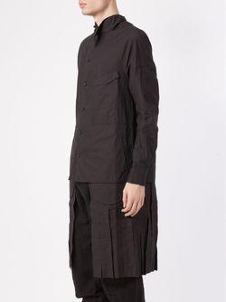 Layered Jacket ZIGGY CHEN                                                                                                              чёрный цвет