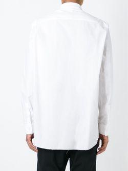 Рубашка С Нагрудным Карманом Givenchy                                                                                                              белый цвет