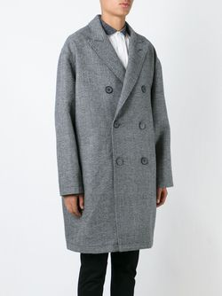 Двубортное Пальто Lanvin                                                                                                              серый цвет