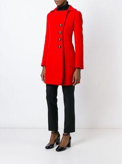Двубортное Пальто Aquilano-Rimondi                                                                                                              красный цвет