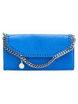 Кошелек Falabella Stella Mccartney                                                                                                              синий цвет