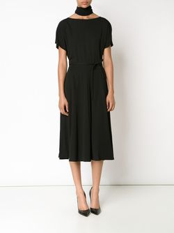 Cinched Waist Dress TOME                                                                                                              чёрный цвет