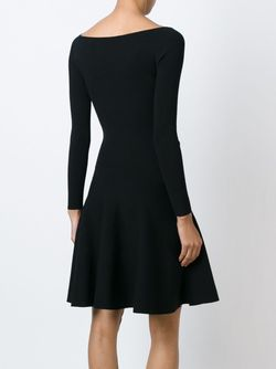 Расклешенное Платье С Вырезом-Лодочкой Polo Ralph Lauren                                                                                                              черный цвет