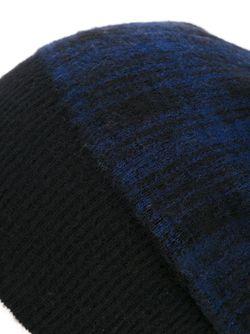 Шапка-Бини В Клетку Laneus                                                                                                              синий цвет