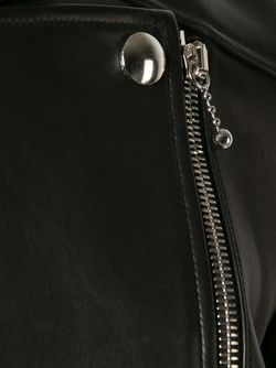 Укороченная Байкерская Куртка Alexander Wang                                                                                                              чёрный цвет