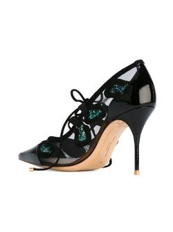 Туфли С Блестками Britt Sophia Webster                                                                                                              чёрный цвет