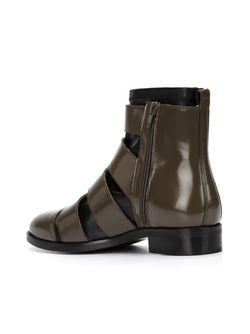Ботинки С Вставкой-Носком MM6 by Maison Margiela                                                                                                              зелёный цвет