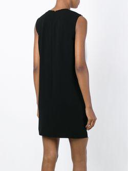 Платье-Шифт С Панелью Металлик Mcq Alexander Mcqueen                                                                                                              белый цвет