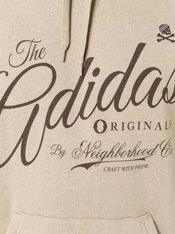 Толстовка Adidas By Neighborhood adidas Originals                                                                                                              Nude & Neutrals цвет