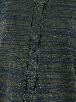 Кардиган В Полоску ERIKA CAVALLINI SEMICOUTURE                                                                                                              синий цвет