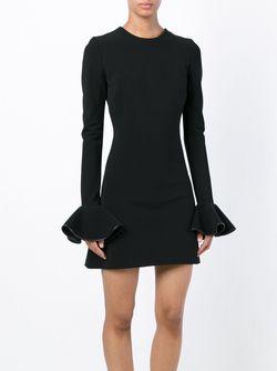 Платье С Рукавами-Колокол David Koma                                                                                                              чёрный цвет