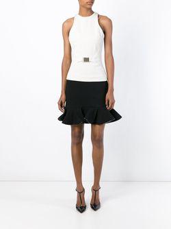 Trim Peplum Skirt David Koma                                                                                                              черный цвет