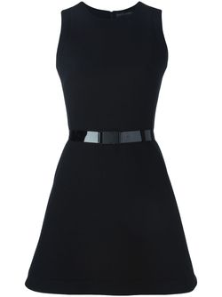 Buckled Belt Flared Dress David Koma                                                                                                              чёрный цвет