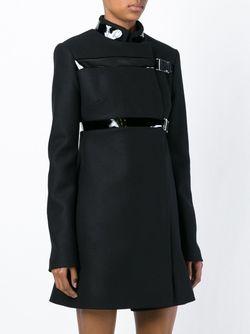 Buckle Fastening Coat David Koma                                                                                                              чёрный цвет