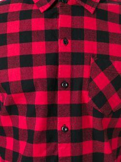 Рубашка В Клетку Woolrich                                                                                                              красный цвет