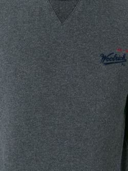 Толстовка С Круглым Вырезом Woolrich                                                                                                              серый цвет