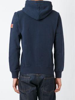 Толстовка С Вышивкой Логотипа Woolrich                                                                                                              синий цвет