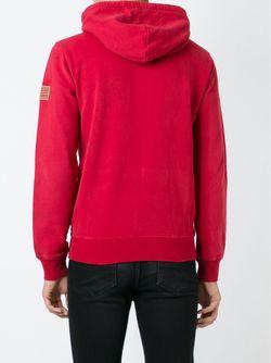 Толстовка На Молнии С Вышивкой Логотипа Woolrich                                                                                                              красный цвет