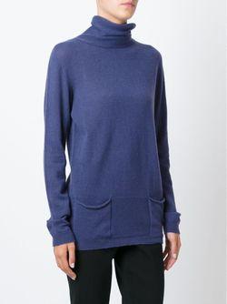 Свитер С Высоким Горлом Renoir Woolrich                                                                                                              синий цвет