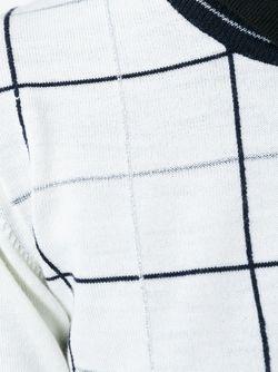 Свитер В Клетку Woolrich                                                                                                              белый цвет
