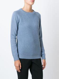 Свитер С Круглым Вырезом Woolrich                                                                                                              синий цвет