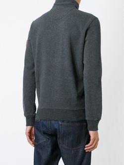 Спортивная Куртка С Вышивкой Логотипа Woolrich                                                                                                              серый цвет