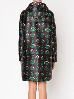 Пальто С Принтом Primavera Valentino                                                                                                              черный цвет