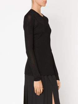 Lightweight Sweater Givenchy                                                                                                              чёрный цвет