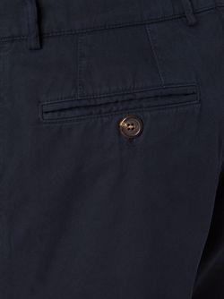 Брюки-Чинос Прямого Кроя Brunello Cucinelli                                                                                                              чёрный цвет