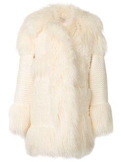 Пальто Ramona Из Искусственного Меха Stella Mccartney                                                                                                              белый цвет