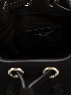 Маленькая Сумка-Мешок Emmanuelle Saint Laurent                                                                                                              черный цвет