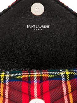 Мини Сумка Через Плечо Monogram Saint Laurent                                                                                                              красный цвет