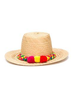 Шляпа Suki YOSUZI                                                                                                              коричневый цвет