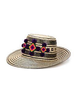 Шляпа Jolu С Широкими Полями YOSUZI                                                                                                              черный цвет