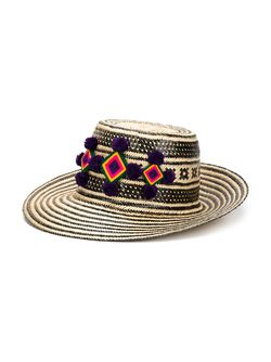 Шляпа Jolu С Широкими Полями YOSUZI                                                                                                              чёрный цвет