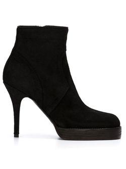 Ботинки По Щиколотку На Шпильке Rick Owens                                                                                                              чёрный цвет