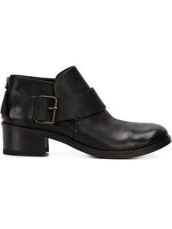 Buckled Ankle Boots Marsell                                                                                                              черный цвет