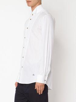 Quilted Bib Shirt Vivienne Westwood                                                                                                              белый цвет