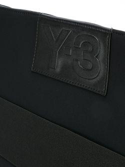 Сумка На Плечо В Стиле Колор-Блок Y-3                                                                                                              черный цвет