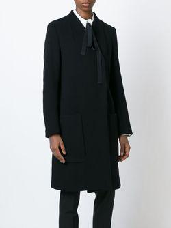 Двубортное Пальто Dondup                                                                                                              черный цвет
