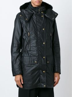 Hooded Zip Jacket Belstaff                                                                                                              чёрный цвет