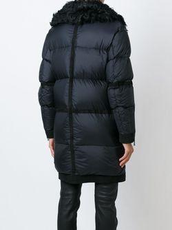 Дутая Куртка С Меховым Воротником Belstaff                                                                                                              черный цвет