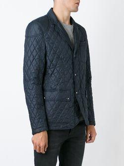 Стеганая Куртка Belstaff                                                                                                              синий цвет