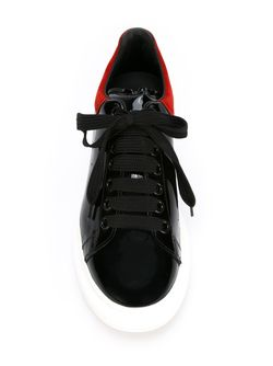 Кеды На Массивной Подошве Alexander McQueen                                                                                                              черный цвет