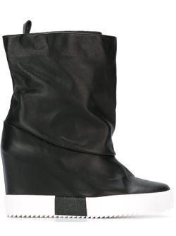 Concealed Wedge Boots Giuseppe Zanotti Design                                                                                                              чёрный цвет
