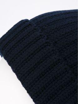 Классическая Шапка-Бини Neil Barrett                                                                                                              синий цвет
