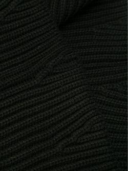Шарф Ребристой Вязки Neil Barrett                                                                                                              черный цвет