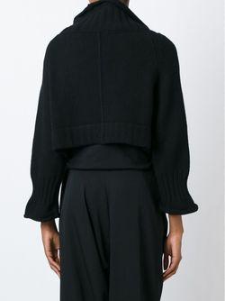 Асимметричный Кардиган Y'S                                                                                                              чёрный цвет