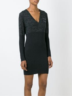 Облегающее Платье-Свитер Diesel                                                                                                              чёрный цвет